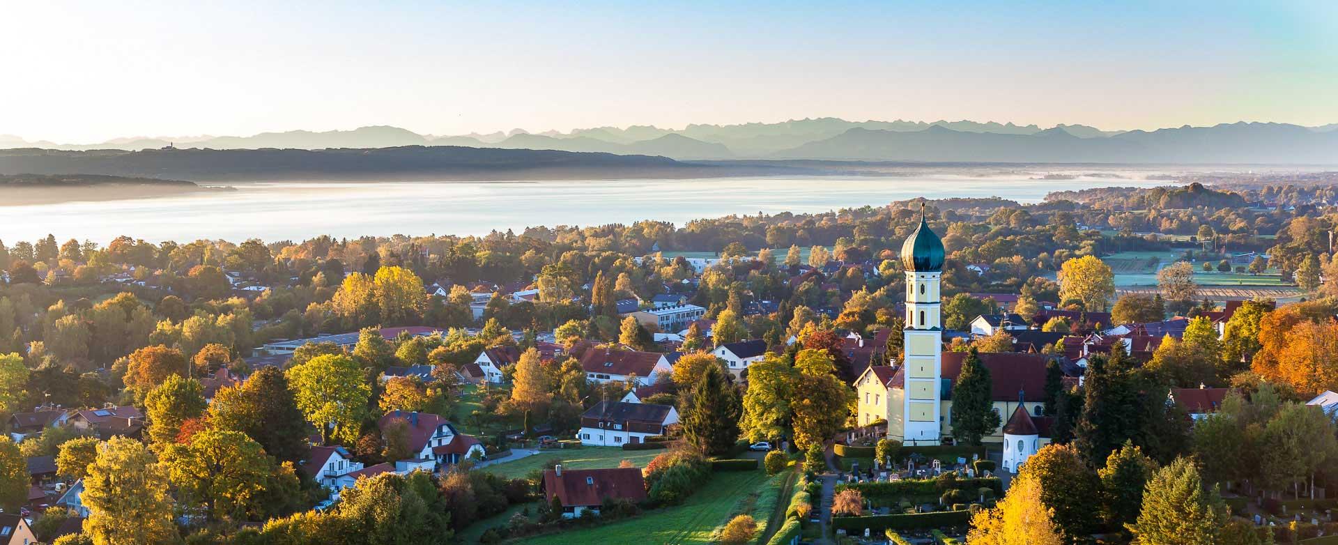Luftbild Schondorf